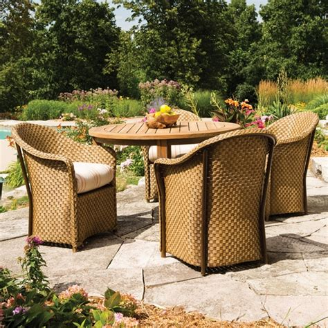 lloyd outdoor furniture lloyd flanders weekend retreat wicker 5 patio dining