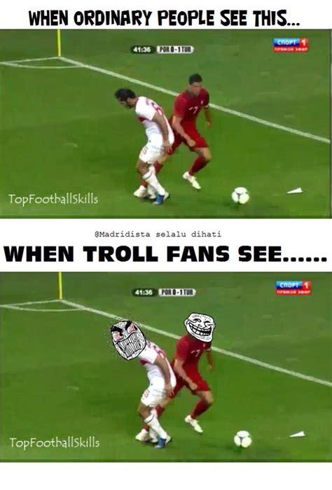 Troll Football Memes - football memes cr7 trolling someone