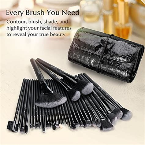 Amorus Premium 129 Highlighter And Contour Brush makeup brush set uspicy 32 pieces professional makeup brushes essential cosmetics with