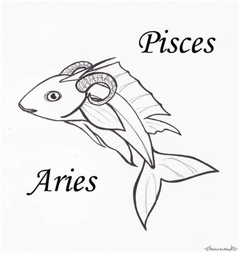 pisces aries by adrastia217 on deviantart