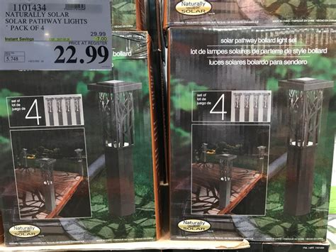 Naturally Solar Pathway Lights Costco Solar Lights Naturally Solar Pathway Lights Costco