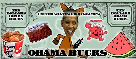 """Obama Bucks"": Caricatures of Barack Obama - Sociological ... Fried Chicken And Watermelon Stereotype"