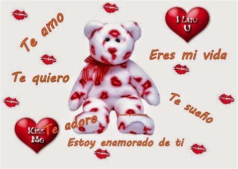 imagenes de amor romantico imagenes con lindos ositos mensajes y frases de te amo y