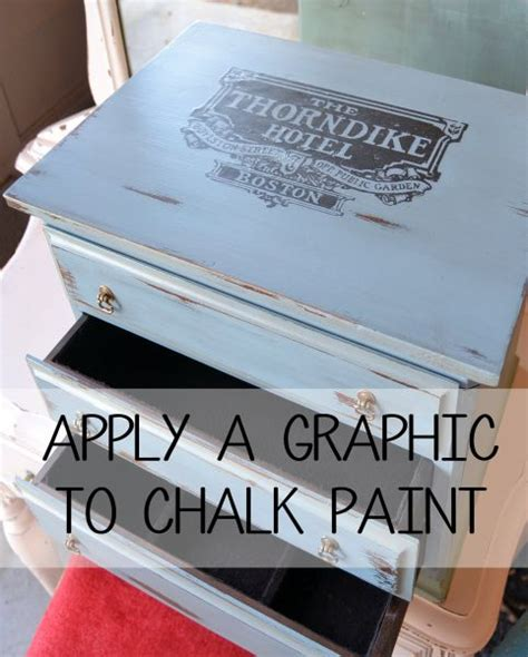 chalkboard paint application apply a graphic to chalk paint flyingc diy painting