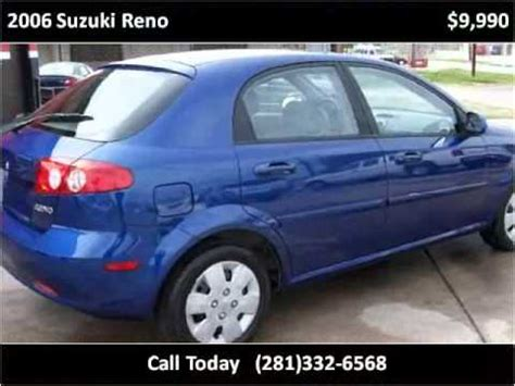 Suzuki Reno Problems 2006 Suzuki Reno Problems Manuals And Repair