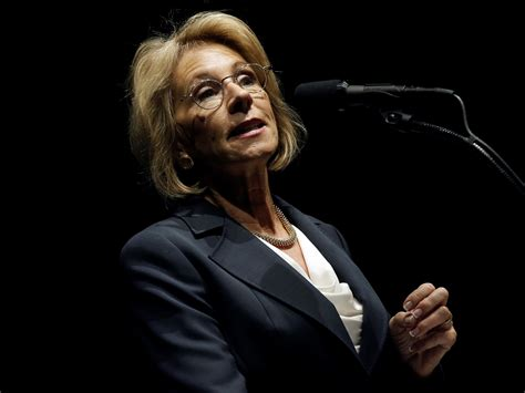 betsy devos business betsy devos angered people with comments about hbcus