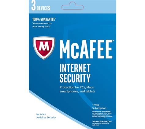 mcafee security 2016 3 users for 1 year deals