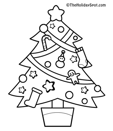 new christmas tree coloring pages christmas coloring book pictures to color