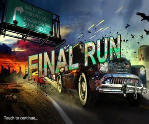 final run, gioco in stile gta per ipad e iphone!