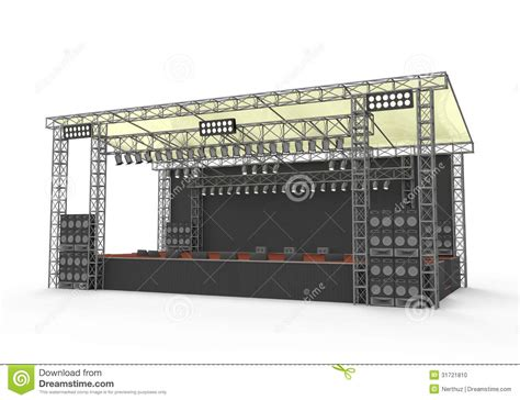 backyard stage design outdoor concert stage design more information stage pinterest concert stage