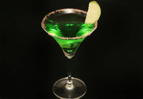 martini green how to a green apple martini 8 steps with pictures