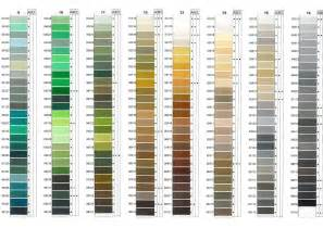 coats and clark thread color chart 17 best images of coats thread conversion chart cross