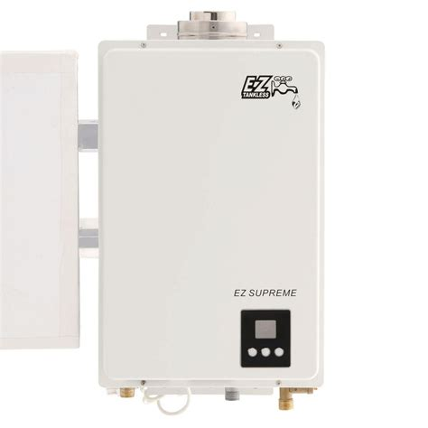 ez tankless supreme on demand 8 2 gpm 165 000 btu lpg
