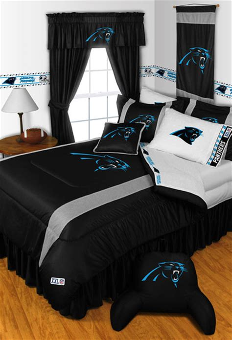 carolina panthers bedroom ideas nfl carolina panthers bedding and room decorations