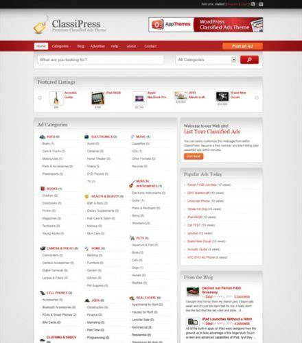 Craigslist Clone Cost To Create A Website Like Craigslist Classified Website Template