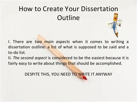 how to start your dissertation how to create your dissertation outline