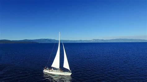 charter boat hits sailboat the best sailing charter in lake tahoe onerooftop travel