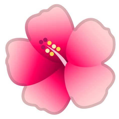 imagenes de wasap de flores flor de hibisco emoji