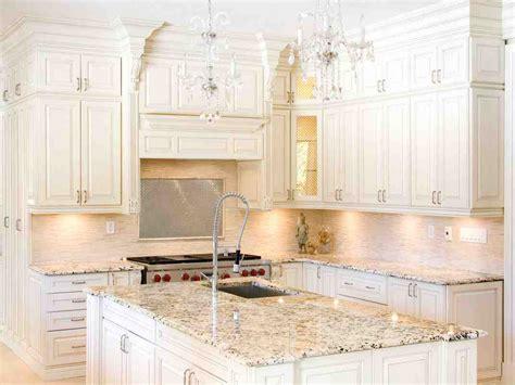 granite colors  white cabinets home furniture design