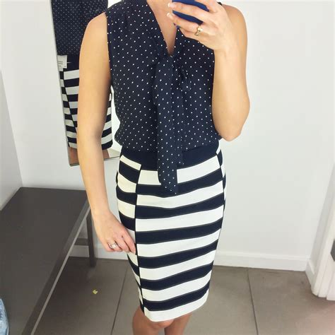 Maxi Marion Navy fitting room h m new arrivals and nordstrom rack striped