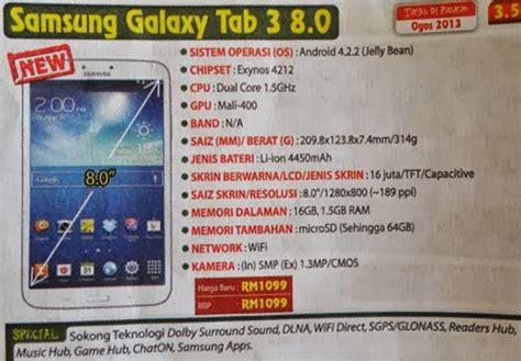 Samsung Galaxy Tab A 8 Harga Special samsung galaxy tab 3 8 0 yumida