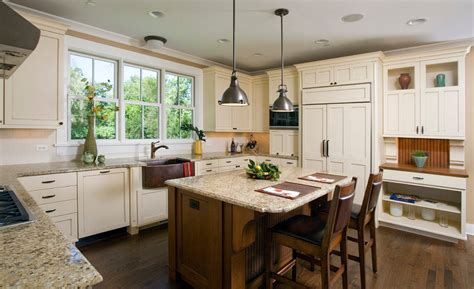 Best Lighting For Kitchen Island by Top 100 Craftsman Kitchen Design Ideas Photo Gallety