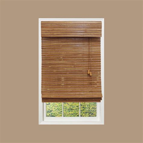 home decorator blinds home decorators collection honey bamboo weave bamboo roman