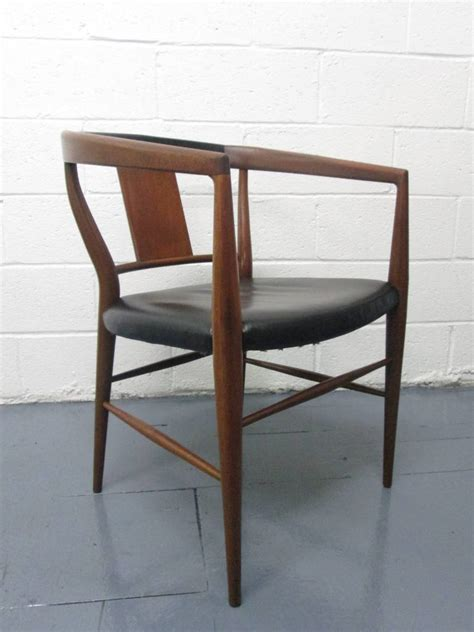 armchairs modern pair of jacob kjaer danish modern leather dining armchairs for sale at 1stdibs