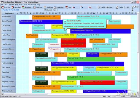 resource schedule template free filemaker resource scheduler filemaker