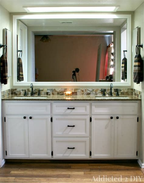 build your own bathroom vanity cabinet diy double bathroom vanity addicted 2 diy