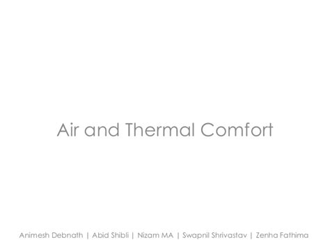 thermal comfort air thermal comfort air 28 images indoor air quality