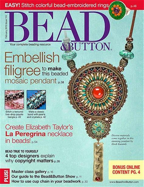 bead button magazine bead button 113 february 2013 187 pdf magazines archive