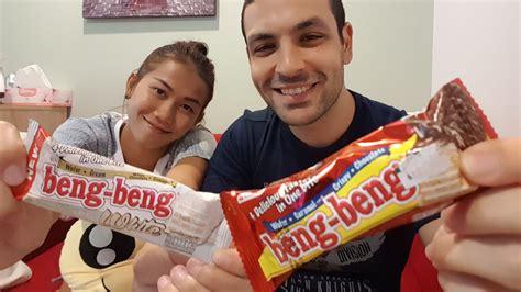 Beng Beng beng beng chocolate white chocolate taste test