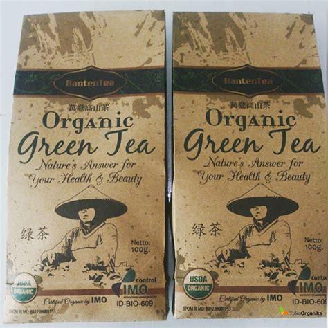 Produk Teh Hijau detil produk teh hijau organik 100gr