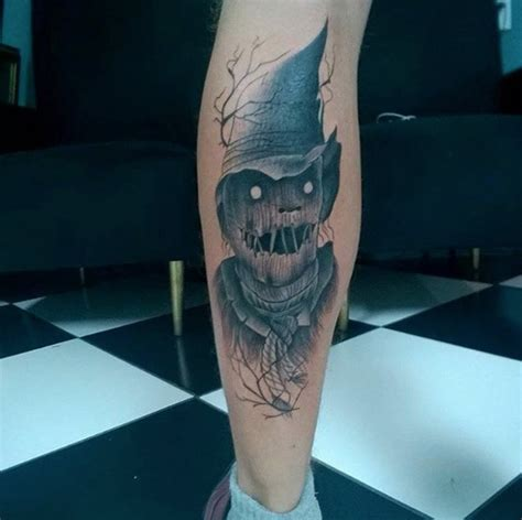 scarecrow tattoo 40 must see tattoos for temporary
