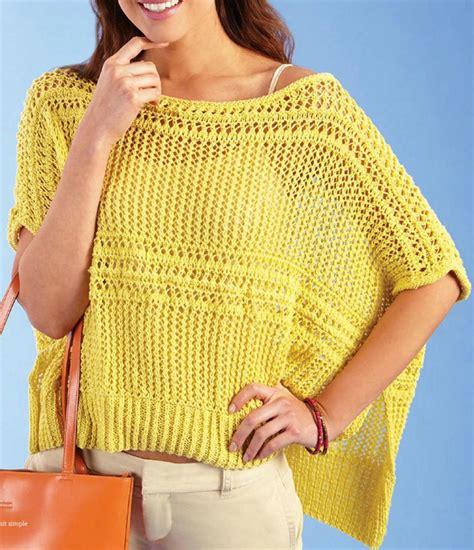 knitting poncho lace poncho knitting pattern