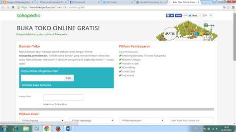 email tokopedia buat toko online bersama tokopedia gratis idteknoku