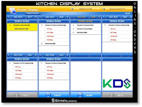 Revel Kitchen Display System by Kitchen Display System Pertaining To Restaurant Kitchen