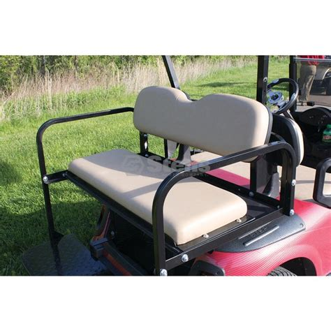 ez go golf cart rear seat installation rear flip seat e z go rxv oyster golf cart light kits