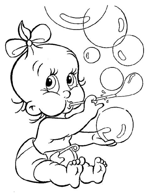 Coloring Pages For Babies Online | baby princess coloring pages to download and print for free