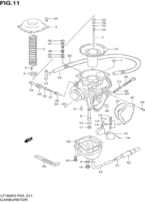 Suzuki Quadrunner 160 Parts 100 Service Manual For Suzuki Lt250 Find Owner