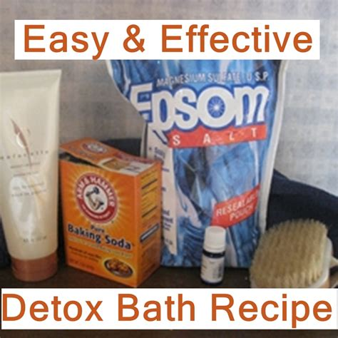 Detox Through Your Recipe by Detox The Ultra Bath
