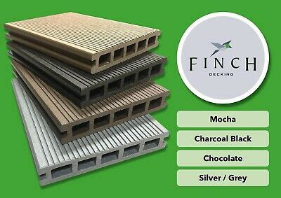 finch composite decking boards wood effect plastic decking