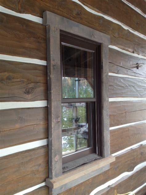 log home interior trim ideas decorating 187 rustic window trim inspiring photos gallery