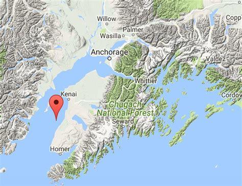 earthquake mp earthquake hits central alaska third to hit during