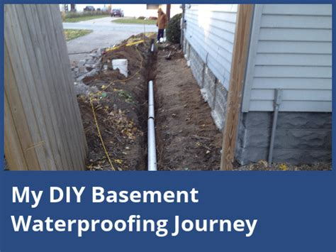 diy waterproof basement my diy basement waterproofing journey
