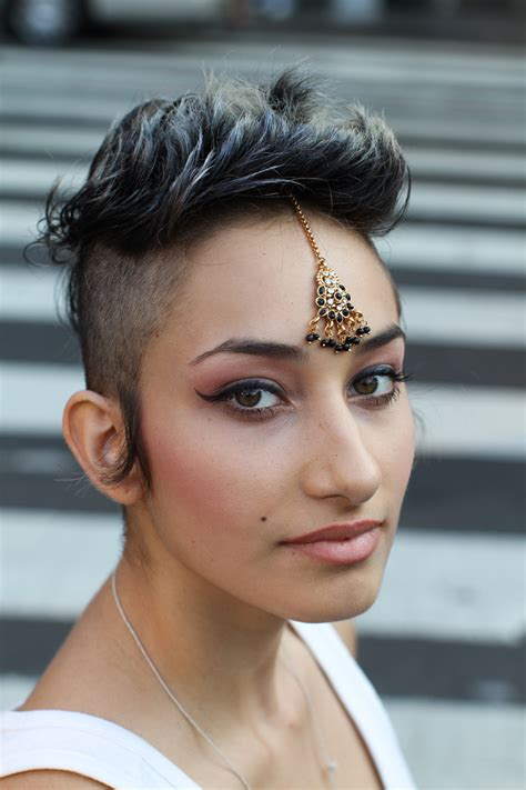 beautiful women hairstyle with sideburns style and the city humans of new york spotlights creative