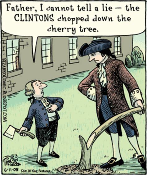 george washington political cartoon george washington and the cherry tree election college