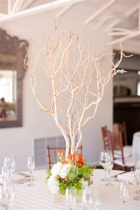 manzanita branch centerpiece elizabeth anne designs the