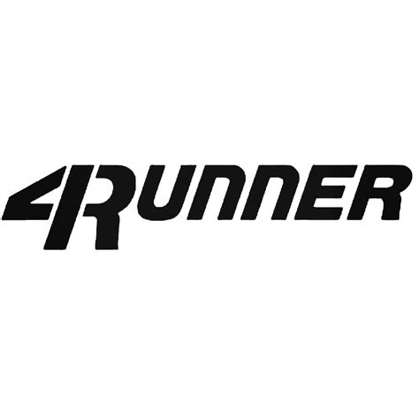 4runner Stickers